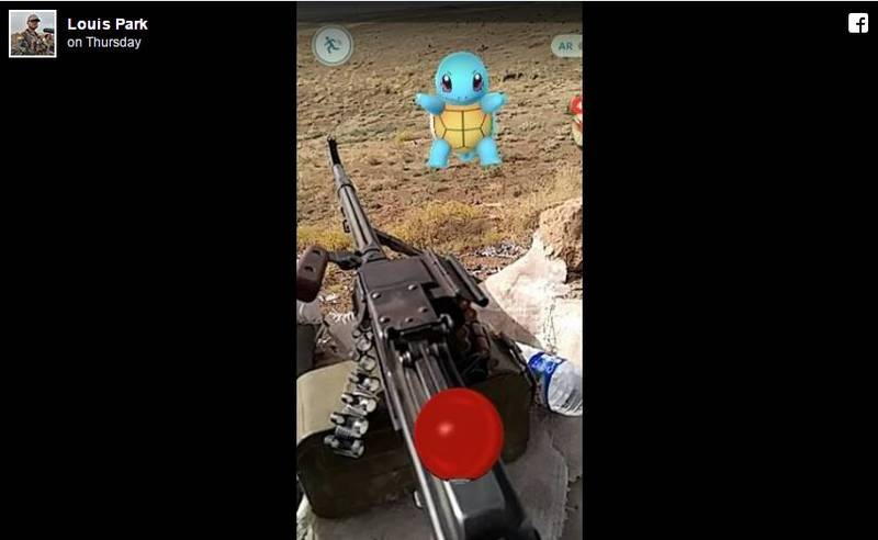 Ex-US Marine Challenges ISIS To Battle On 'Pokémon Go' Whilst On The Frontline In Northern Iraq