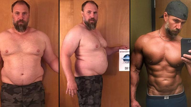Dad, 40, Shows Off Ripped Physique After Losing Almost 7 Stone In 150 Days