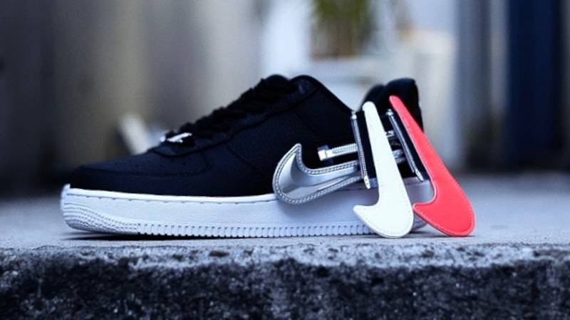 Nike Is Selling Limited Release Air Force Trainers With Changeable Zip-On Swoosh