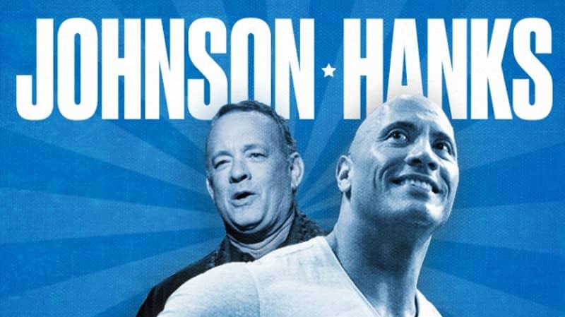 Dwayne Johnson and Tom Hanks Launch Their 2020 Presidential Bid
