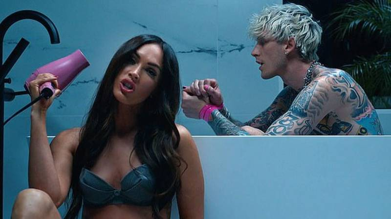 Megan Fox Stars In New Machine Gun Kelly Music Video