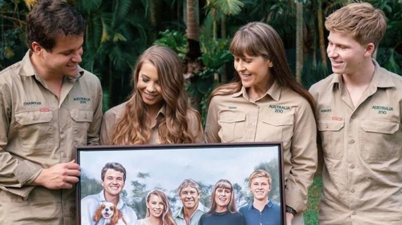 Bindi Irwin Shares Artwork Of Her Late Father Attending Her Wedding