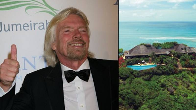 Richard Branson Chooses To Stay On His Caribbean Island Despite Hurricane Irma