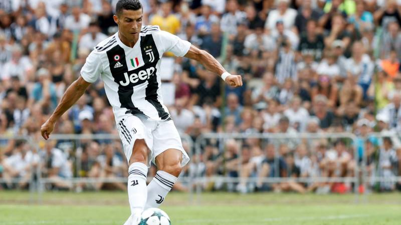 It Took Just Eight Minutes For Cristiano Ronaldo To Score His First Juventus Goal