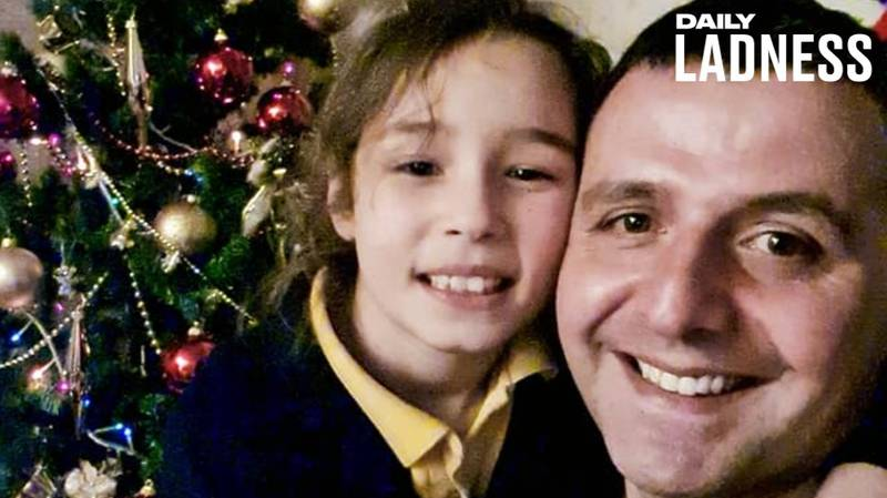 Dad Reunited With Daughter For Christmas After 10 Months Apart