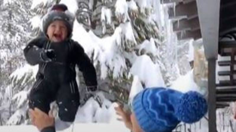 Ski Champion Defends Throwing Her Toddler Into Snow After Backlash
