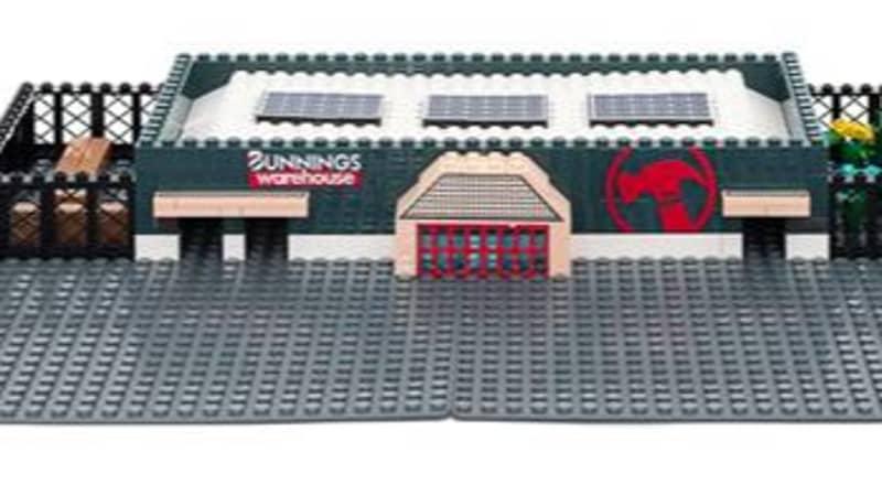 Bunnings Is Bringing Back Its Iconic Warehouse LEGO-Style Set