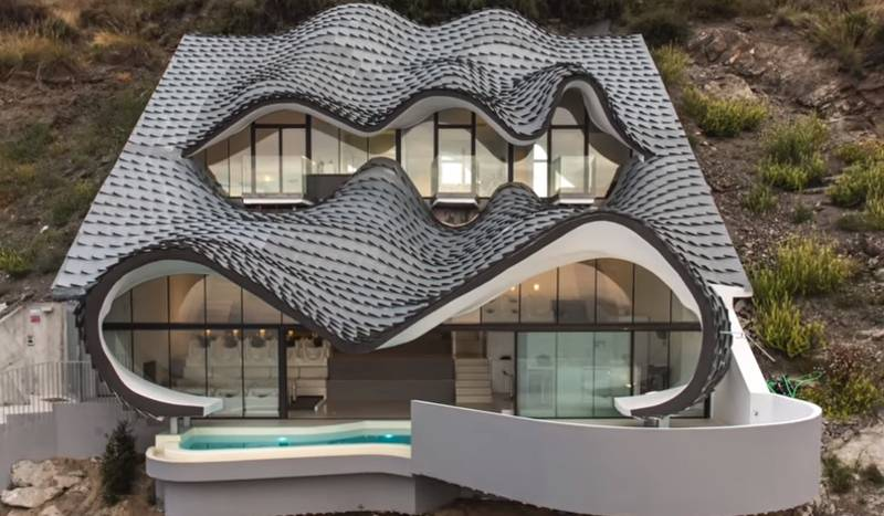 Awesome 'Dragon House' Built Into Side Of Cliff Is Really Something