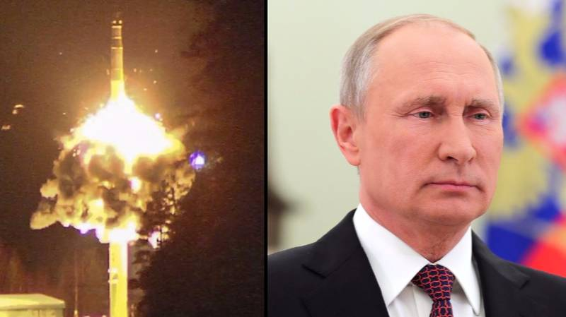 Russia Tests Nuclear Missiles As Part Of Massive Military Exercise