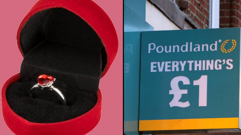 You Can Now Buy Engagement Rings From Poundland – Just In Time For Valentine's Day
