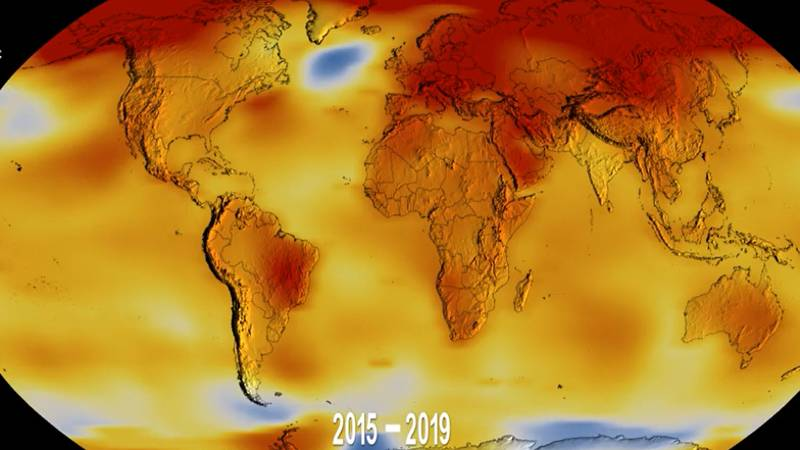 Earth Is Heading Towards Temperatures 'Not Seen In 50 Million Years'