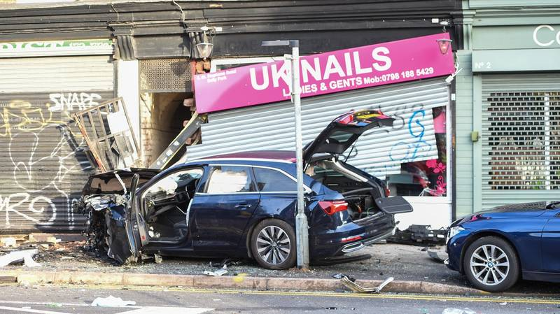 Police Discover Cannabis Farm After Car Being Chased Smashes Into Building