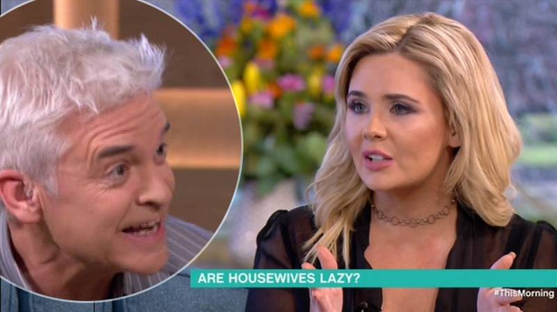'This Morning': Phillip Schofield Gets In The Middle Of Two Mums Arguing About 'Lazy' Housewives