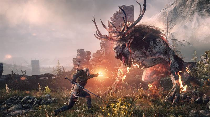 There Are More Gamers Playing The Witcher 3: Wild Hunt Than On Its Launch Day