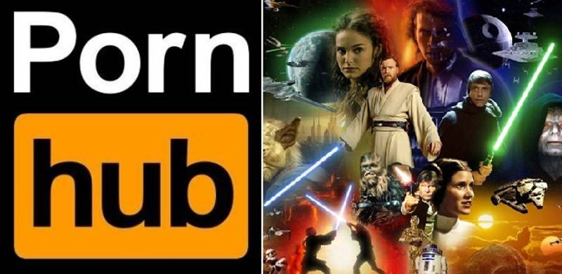 Pornhub Release Interesting And Disturbing Stats After Star Wars Day
