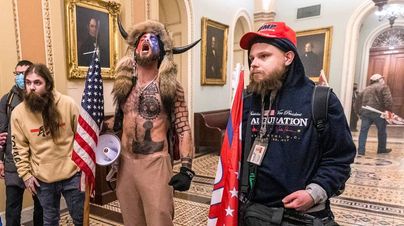 Man Sacked After Storming Capitol Building Wearing His Work Lanyard