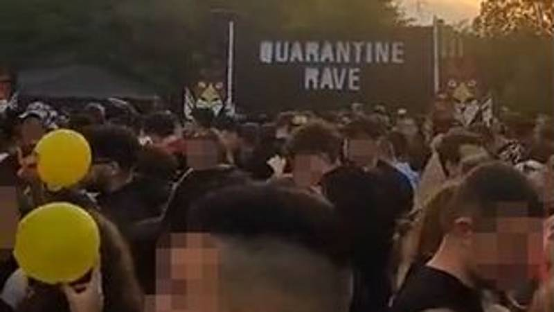 Snapchat Video Shows Hundreds At Illegal 'Quarantine Rave'