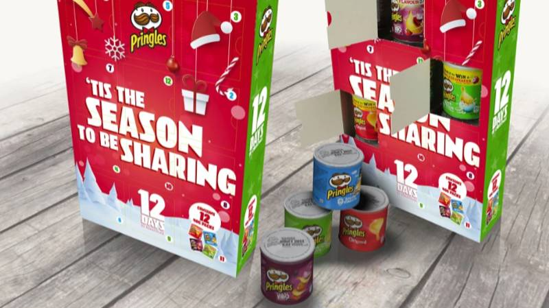 B&M Is Selling Pringles Advent Calendars For People With A Savoury Tooth