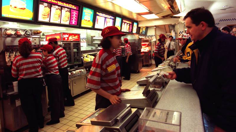 People Are Reminiscing About McDonald's In The 1980s And '90s