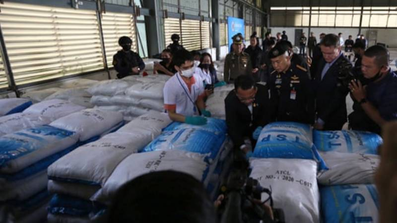 Thailand's $1 Billion 'Ketamine' Bust Turns Out To Be Cleaning Substance
