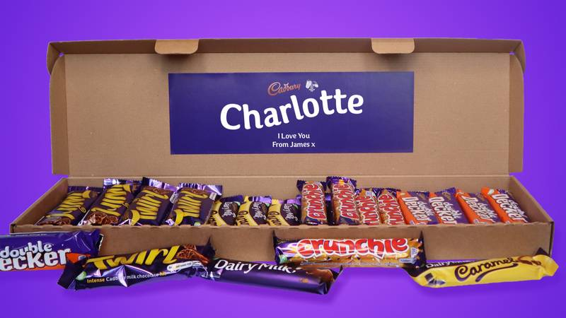 You Can Send People Massive Personalised Cadbury Chocolate Hampers