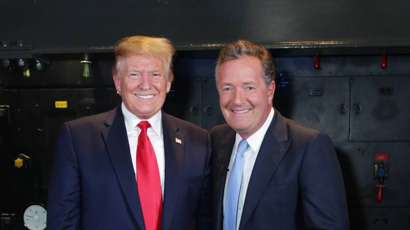 Piers Morgan Says Donald Trump Was Prank Called By Someone Pretending To Be Him