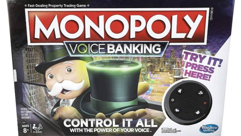 ​New Monopoly Has Voice Controlled Banker So You Can Never Cheat