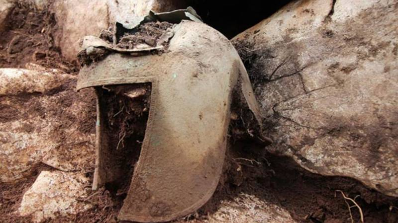 Greek Warrior's Helmet From 7th Century BC Discovered In Croatian Tomb