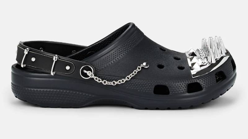 ​Crocs Have Officially Had A Gothic Upgrade