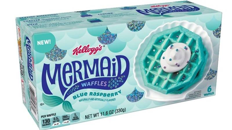 Kellogg's Has Started Selling Blue Waffles And Everyone Is Saying The Same Thing