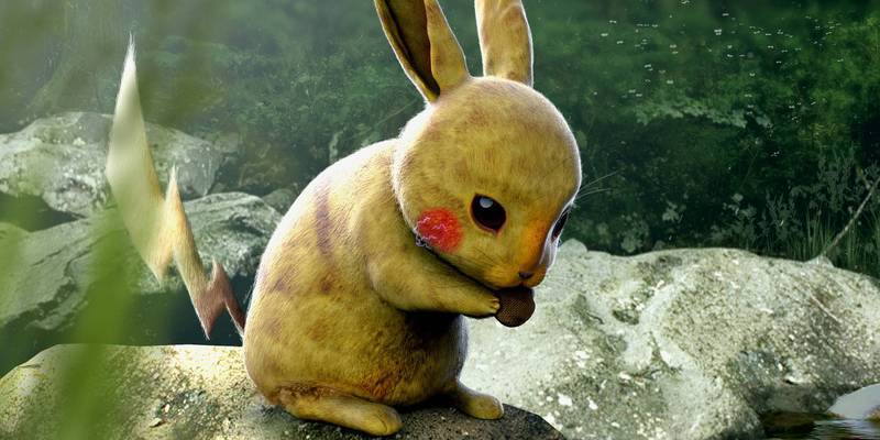 Concept Artist's Very Realistic Images Of Pokémon