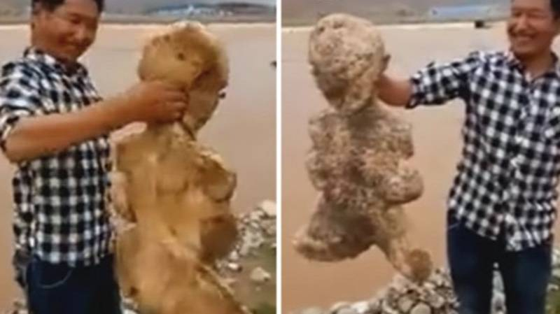 Humanoid Sea Creature Found Alive And Kicking On Chinese Beach