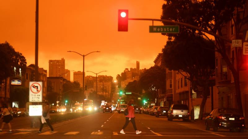 ​People In California And Oregon Describe 'Apocalyptic' Scenes Amid Wildfires