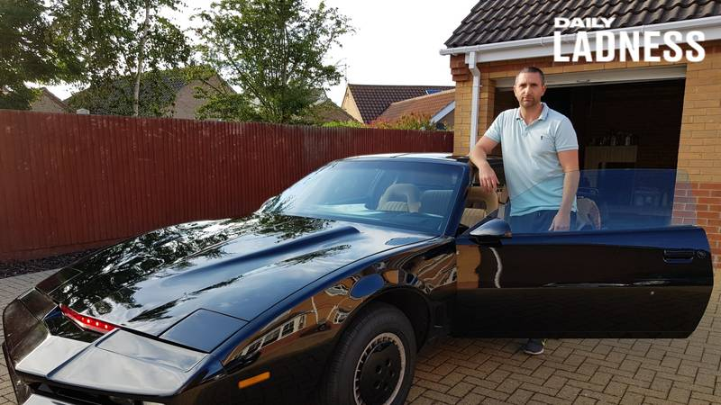 Man Spends £32,000 Building His Own Knight Rider Car