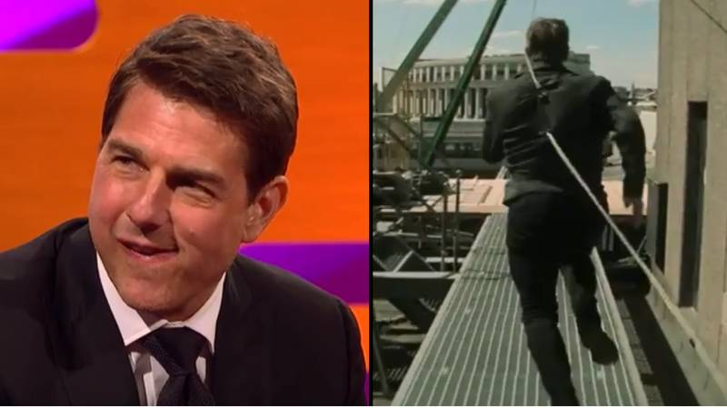 Tom Cruise Shares Slow-Mo Footage Of Breaking His Ankle In 'Mission Impossible 6'
