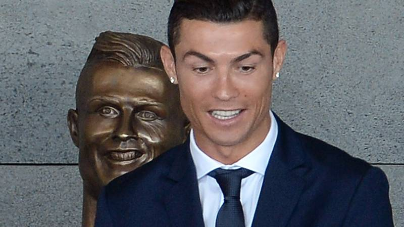 Ronaldo Unveiled His Dodgy-Looking Statue And The Internet Responded Brilliantly