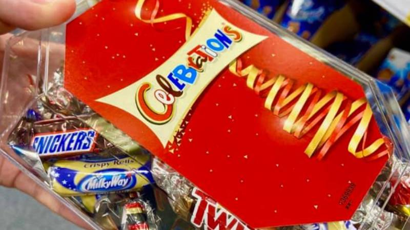 Celebrations Containing Milky Way Crispy Rolls Have Been Spotted In B&M