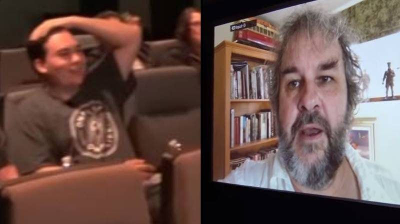 Boy Fighting Cancer Gets Message From Peter Jackson At 'LOTR' Screening