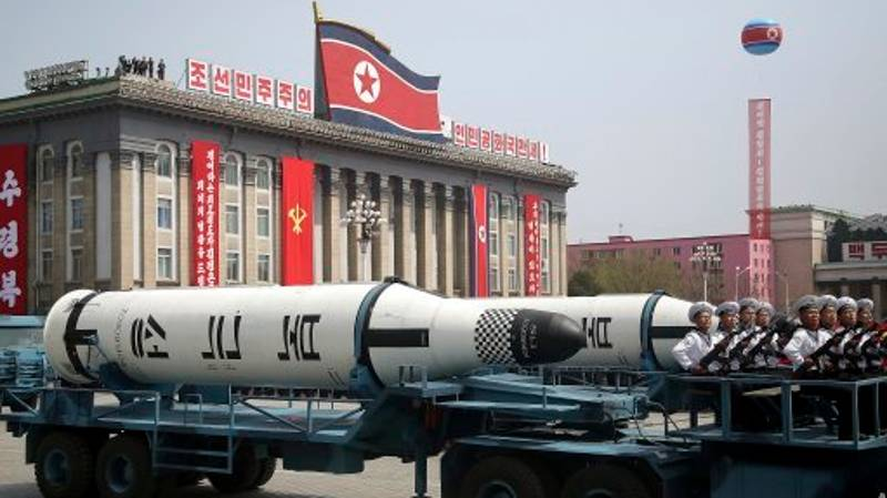 North Korea 'Fired Missile Towards Russia Before Blowing It Up Mid-Flight'