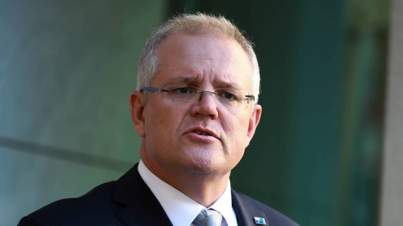 Scott Morrison Refuses To Comment On Donald Trump Prematurely Declaring Early Victory