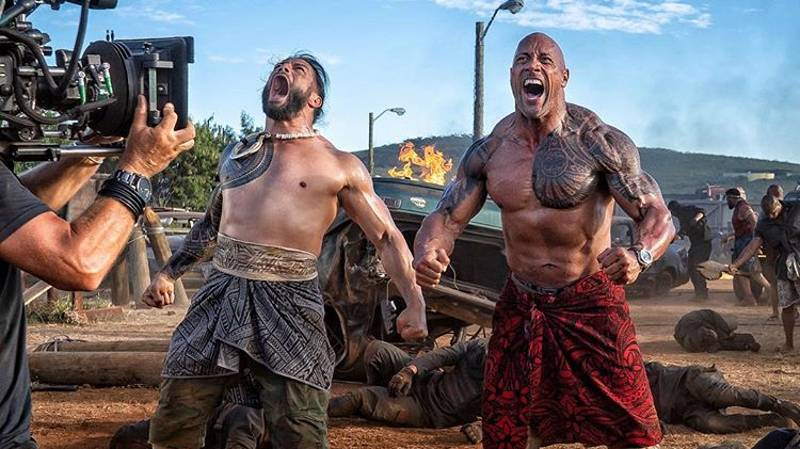 Roman Reigns To Star Alongside The Rock In Hobbs & Shaw