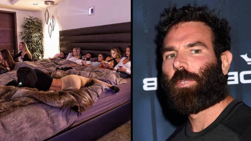 Dan Bilzerian Watched UFC 229 In Bed Surrounded By Nine Women