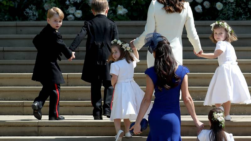 People Are Wondering Where Prince George And Princess Charlotte Went During The Royal Wedding