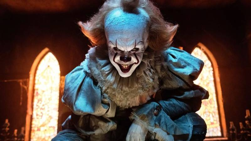 Bill Skarsgård Looks Terrifying As Pennywise In First Look From 'It: Chapter Two'
