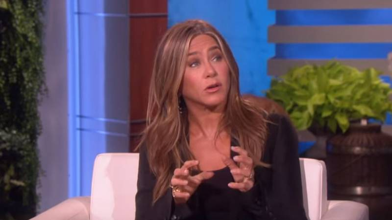 Jennifer Aniston Says Friends Cast Is 'Working On Something'