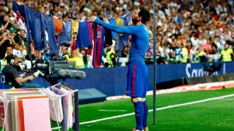 Messi's El Clasico Celebration Inspires Loads Of New Memes