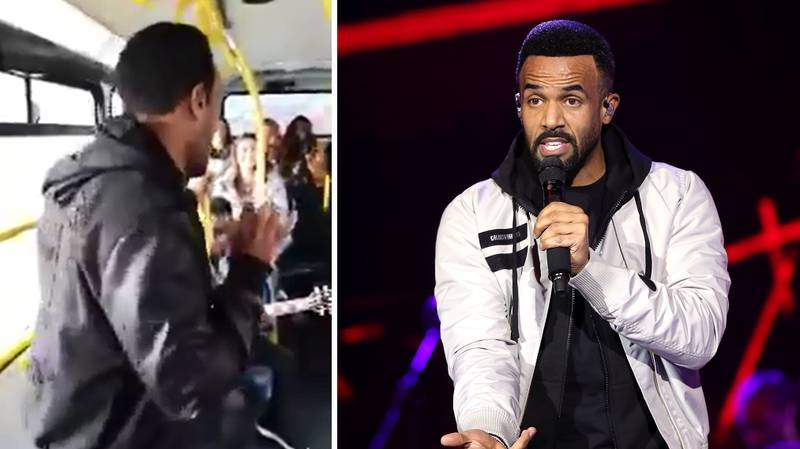 Craig David Hopped On A London Bus And Gave Everyone A Show