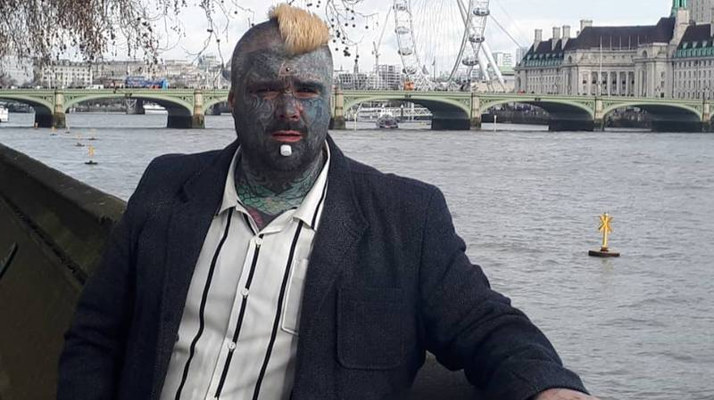 Britain's Most Tattooed Man Says 'Shallow' Women Make It Hard To Find Love