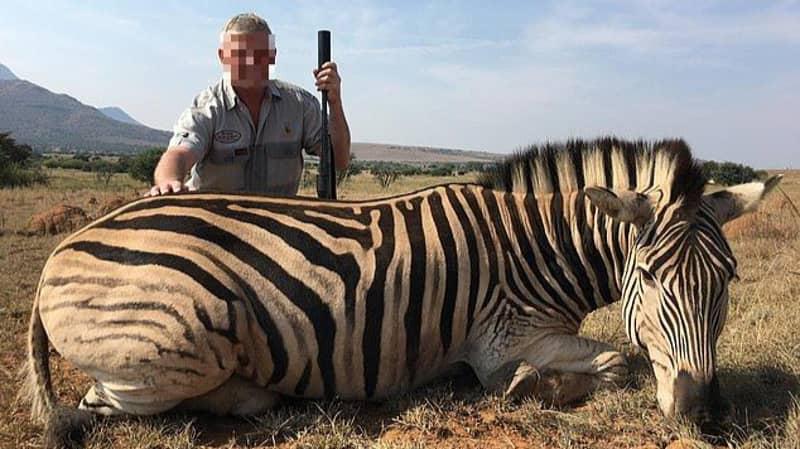 British Trophy Hunters Pose Alongside 'Vulnerable' Zebras Killed For Sport