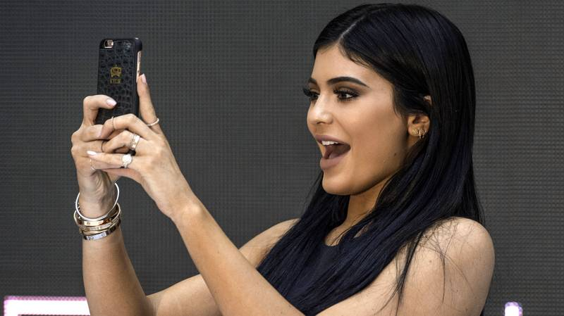 Kylie Jenner's Side-By-Side Throwback Photos Have Got People Laughing